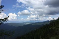 Panoramica lungo cima Portule