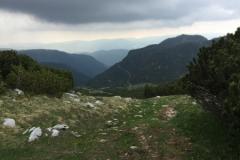 Lungo il percorso per cima Portule