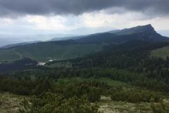 Panoramica lungo il percorso